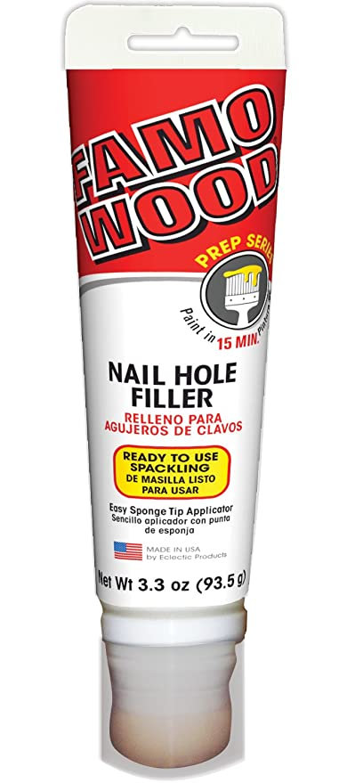 Amazon.com: Famowood 312011 Nail Hole Filler Adhesive - 3.3 oz: Arts ...