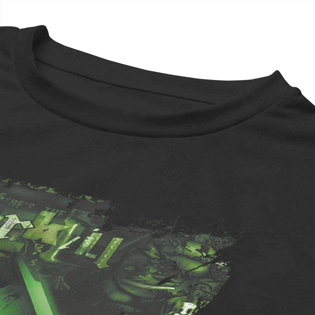 ZhongQiu Overkill Coverkill Women Midriff-Baring Navel Crop Tees Black