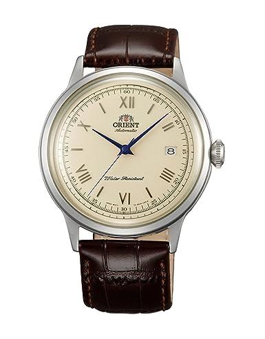 Reloj Orient automático de hombre, de estilo clásico, con correa de piel AC00009N.: Amazon.es: Relojes
