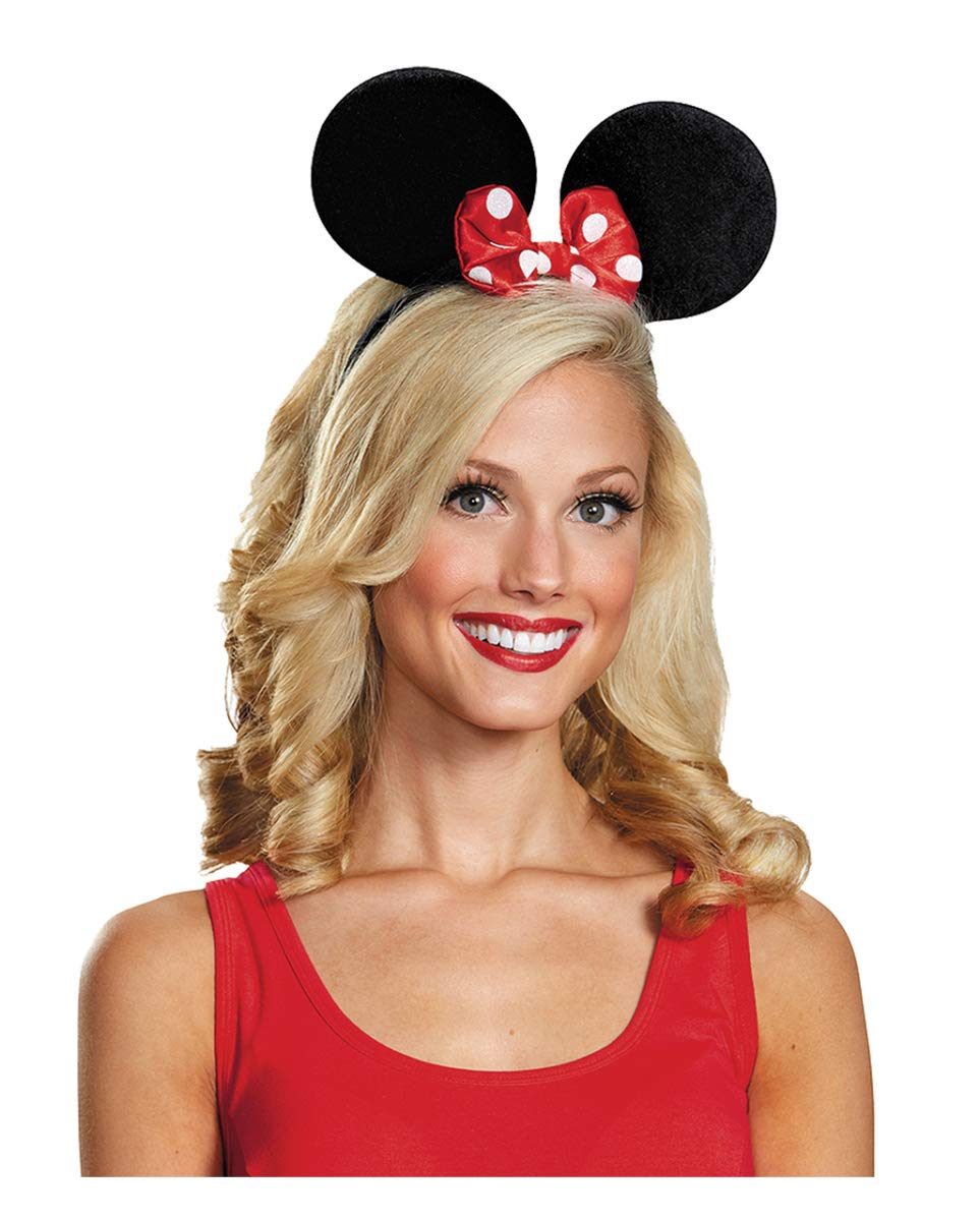 Horror-Shop Minnie Mouse Orejas para Adultos: Amazon.es: Juguetes ...