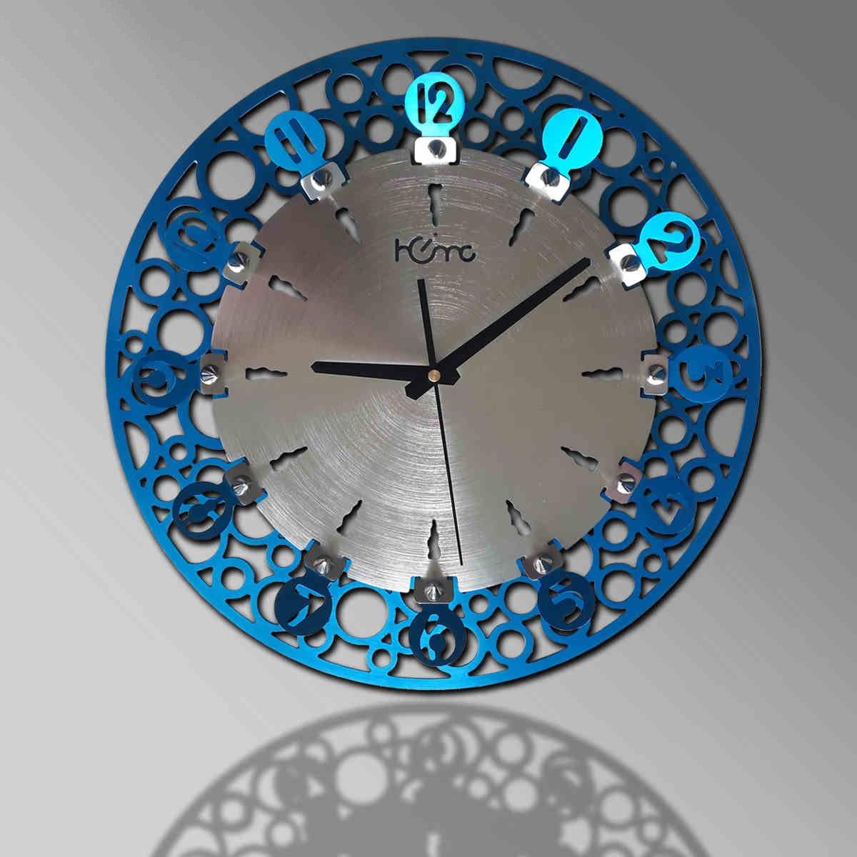 GRJH® メタルクリエイティブリビングルームウォールクロックファッションクリエイティブヨーロッパスタイルのモダンなパーソナリティミュートクォーツ時計 クリエイティブファッションシンプル B07CNLH5L5