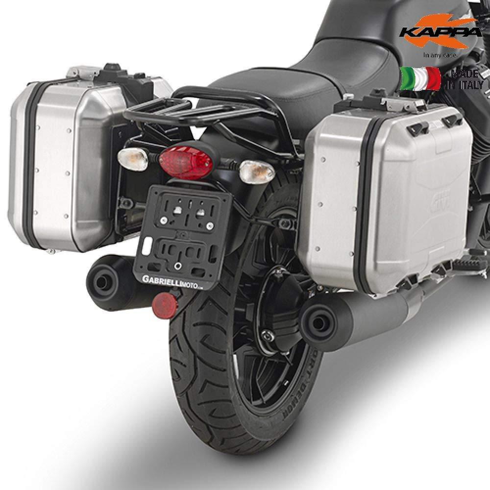 Kappa kl8201portavaligie Side MOTOGUZZI V7Stone