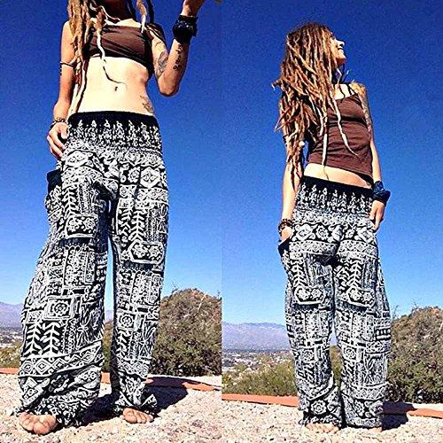 Yoga E Pantaloni Great Comodi Fit Tuta Abbigliamento Leggins Con Donna Fitness Comfort Per Nbaa Larghi Da Elastica Uomo Nero Cintura Hippy 4tw4gAq0n