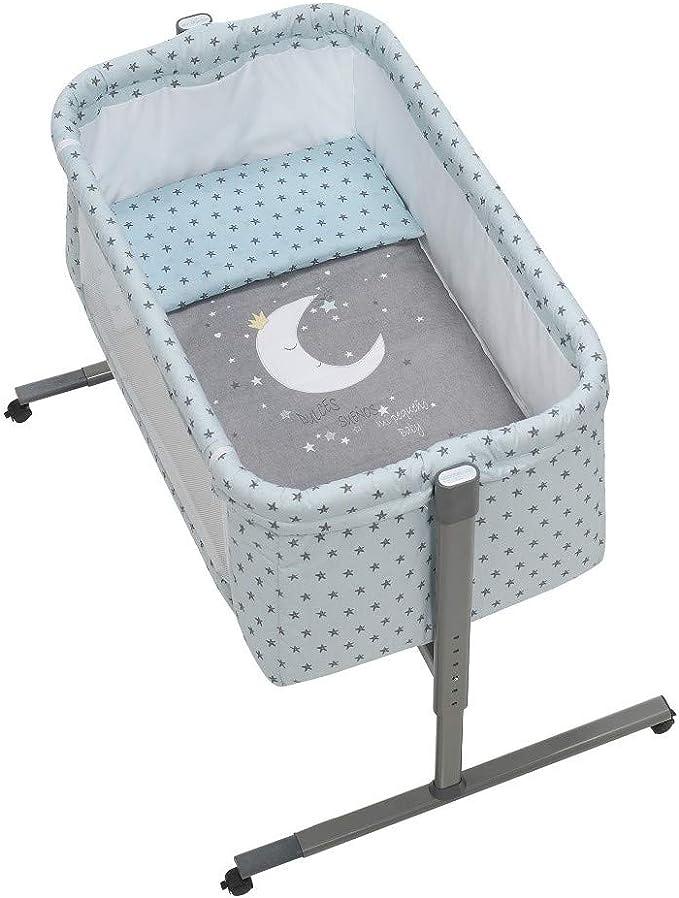 Minicuna Colecho Universal Near Luna Universo Menta: Amazon.es: Bebé