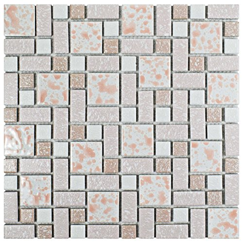 - SomerTile FKOUV413 Academy Porcelain Floor and Wall Tile, 11.75