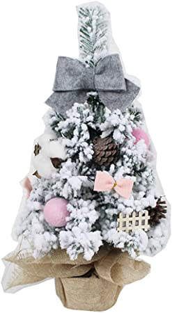 ChristmasTree árbol De Navidad Mesa Artificial Árbol De Navidad Artificial Artificial Árbol De Navidad Abeto para Mesas Y Escritorios-b H60cm: Amazon.es: Hogar
