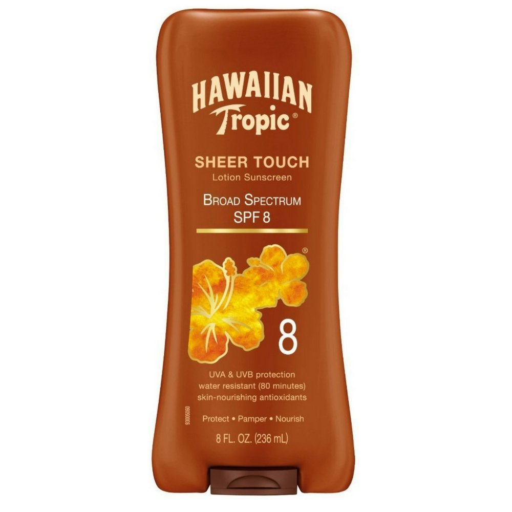 Hawaiian Tropic Sheer Touch Lotion Sunscreen, SPF 8.8 oz Playtex/Banana Boat 8741