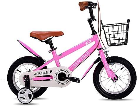 Bicicleta para niños de 2 a 6 años de Edad, niño y niña, niños 12 ...