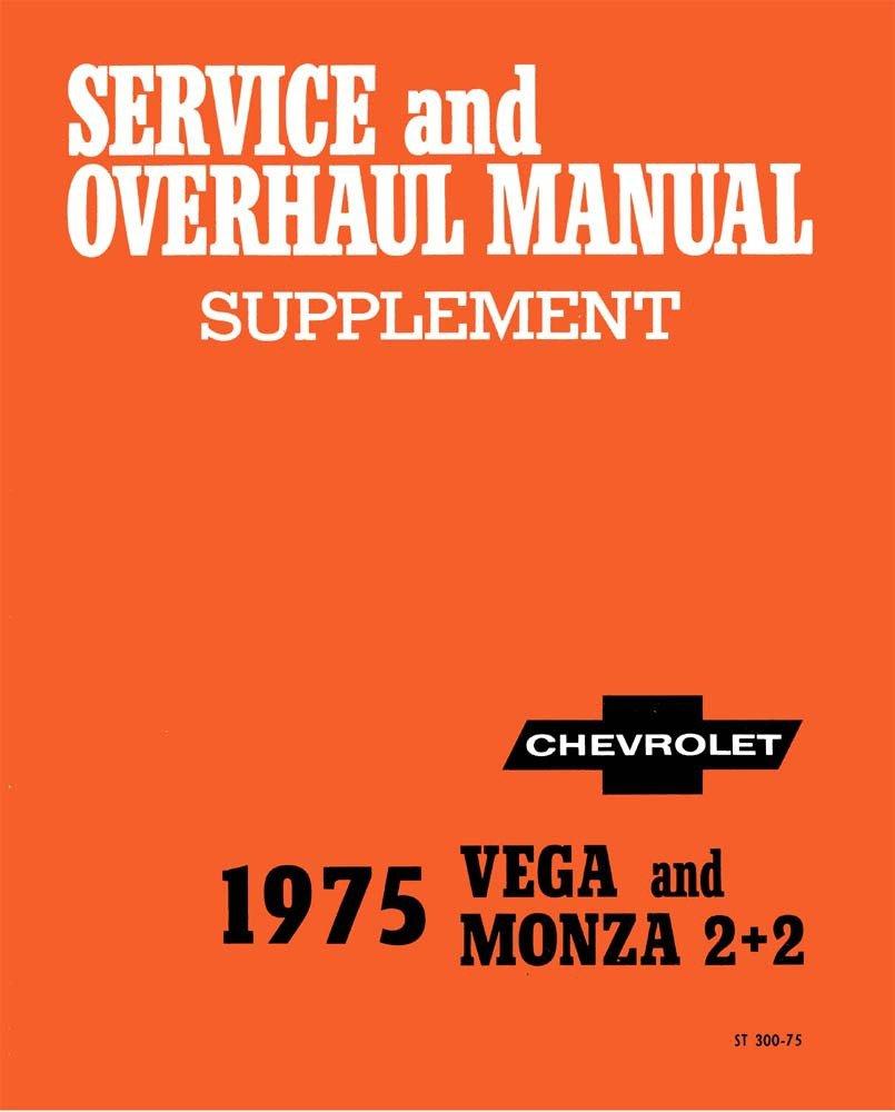 Amazon.com: bishko automotive literature 1975 Chevrolet Monza Vega Shop  Service Repair Manual Book