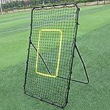 OASIS FOX Professional Pitching Return Baseball Training Net Pitchback Rebound Throwing Sport ,Black