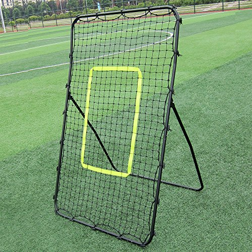 OASIS FOX Professional Pitching Return Baseball Training Net Pitchback Rebound Throwing Sport ,Black by OASIS FOX