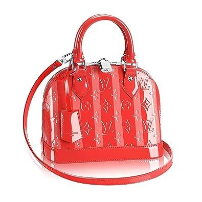 a7118a16b4e2 Authentic Louis Vuitton Monogram Vernis Alma BB Cross Body Handbag Article   M90968 Poppy Made in France  Handbags  Amazon.com