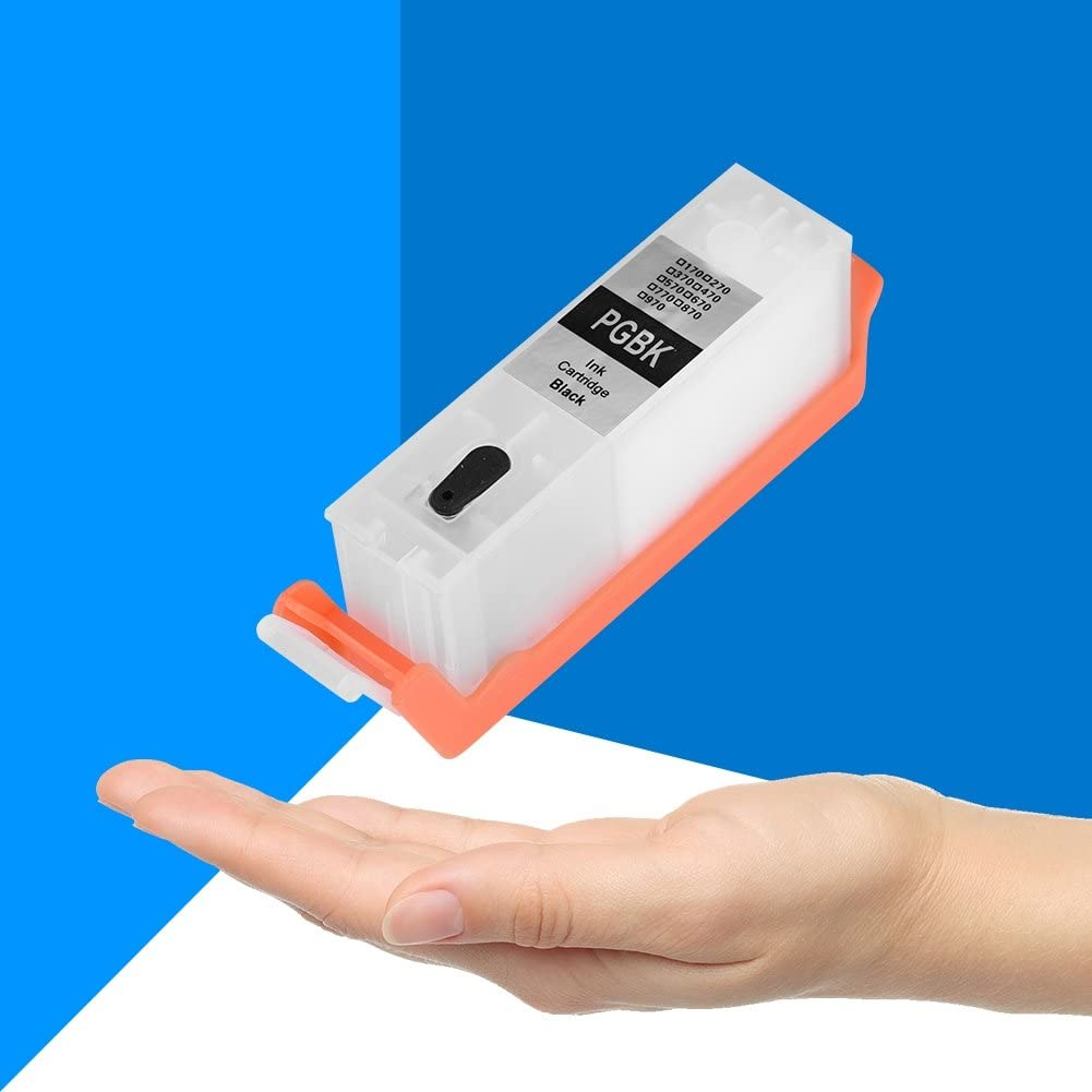 Portable Durable 6 Colors Universal 270//271 Refillable Ink Cartridge with ARC Chip for Canons PIXMA MG7720//5020 Taidda Refillable Ink Cartridges
