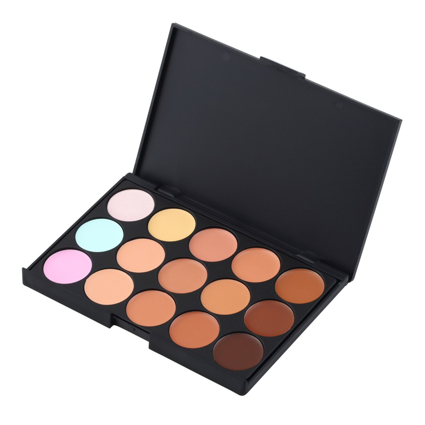15 Farben Concealer Make-up-Palette - Make Up Set - Camouflage Palette - Beste Qualität von Schlupflid weg® SW-concealer-15kit-2