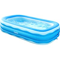 Deals on Sable Inflatable Rectangular Swimming Pool