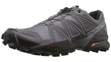 online store e7dd5 e02ca Salomon Speedcross 4 Running Shoes, Men s Size 10 (Grey)
