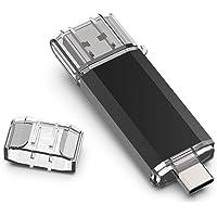 VANSUNY 64GB USB 3.0 Type C Flash Drive USB C OTG Thumb Drive Dual USB Memory Stick for USB-C Smartphones, New MacBook…