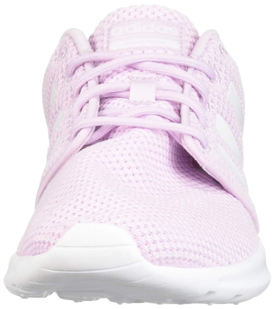 adidas Women's Cloudfoam QT Racer, White/aero Pink, 5.5 M US by adidas (Image #4)