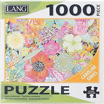 Puzzle Da 1000 Pezzi 737 X 508 Cm Giardino Wildflowers