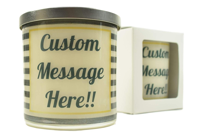 Glass Custom Candles