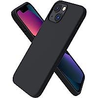 ORNARTO Kompatybilne z iPhone 13 Mini etui, smukły płynny silikon 3 warstwy pełne pokrycie miękka guma żelowa z klapką z…