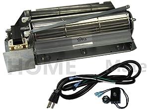 Hongso FBK-250 Replacement Fireplace Blower Fan KIT for Lennox ...