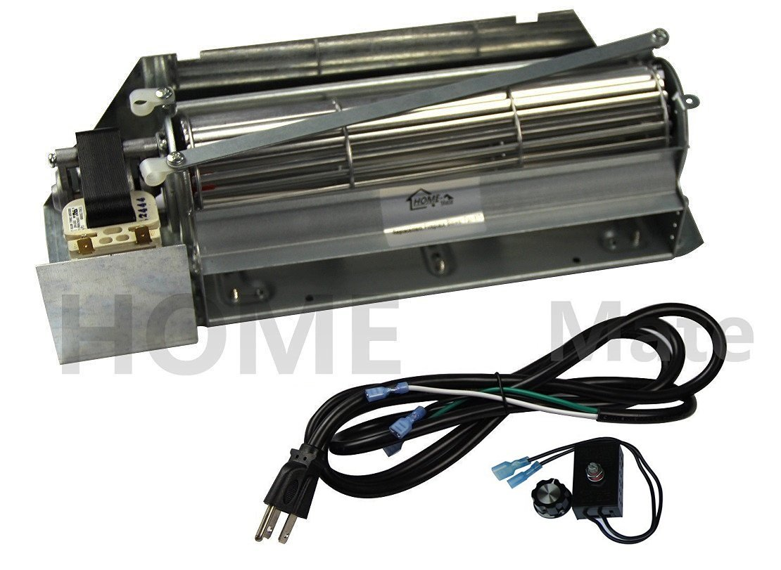 Hongso NEW FBK-200 Replacement Fireplace Blower Fan KIT for Lennox Superior FBK-200