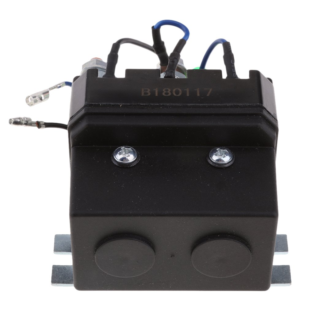 MagiDeal Commutatore A Solenoide A 12V Invertitore Motore Argano 200V Contattore