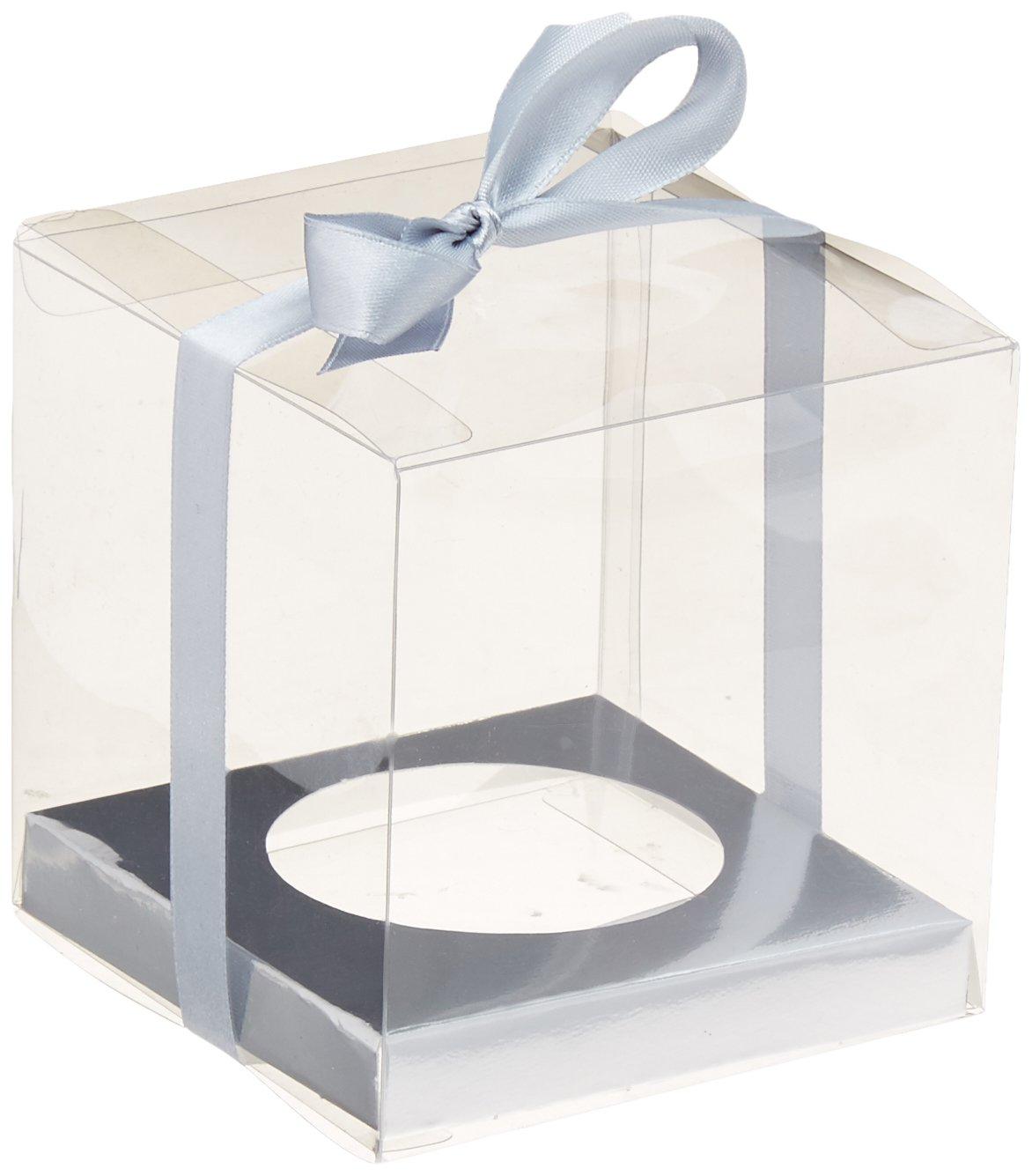Amscan 380020.18 Party Boxes Multi Sizes Silver