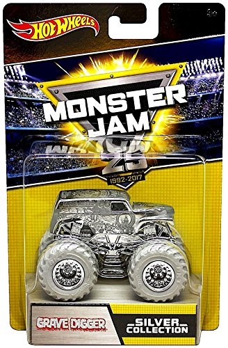 Hot Wheels Monster Jam 25th Anniversary Collection Grave Dig