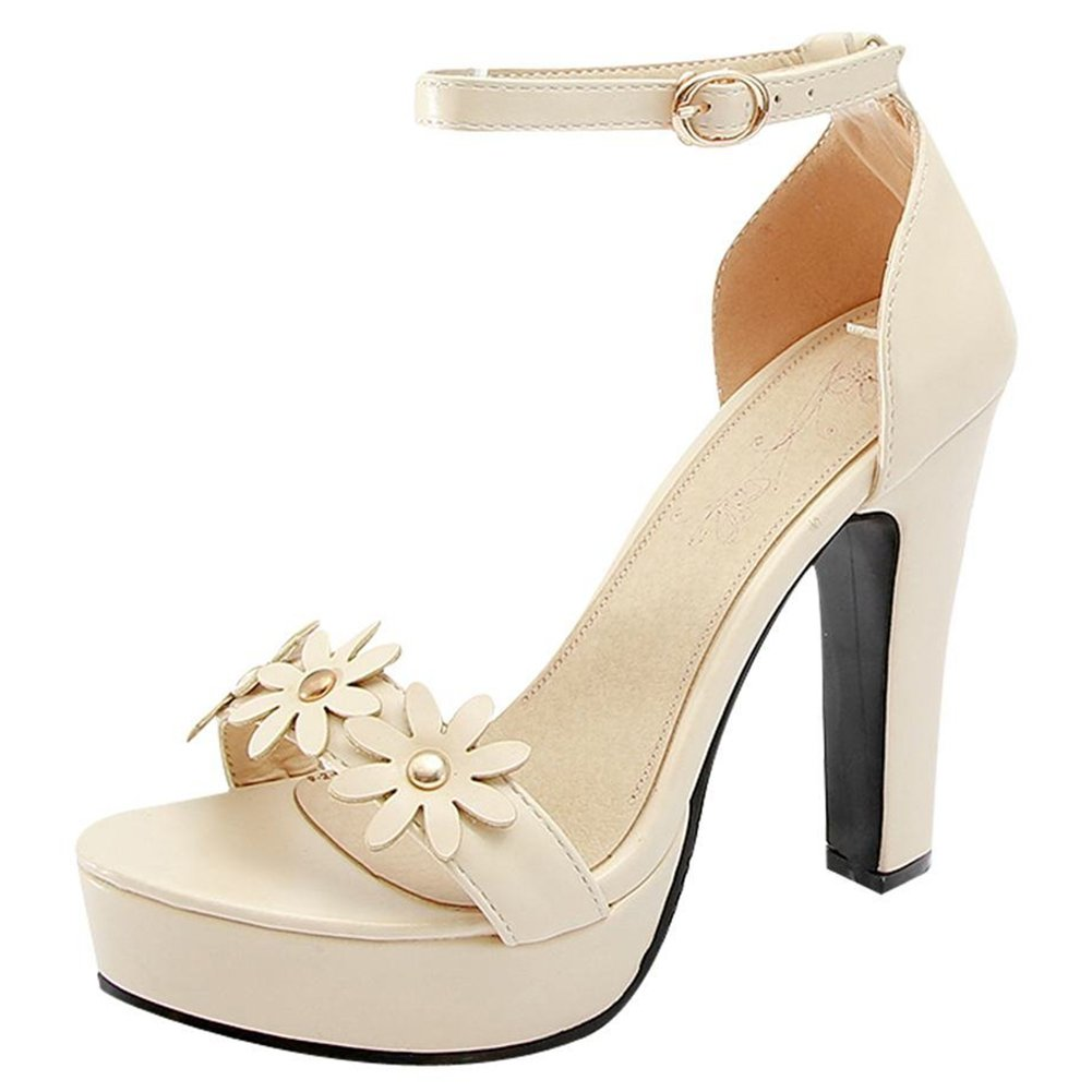 fc6031a9f7 Amazon.com | Artfaerie Women's High Heels Wedding Ankle Strap Pumps ...