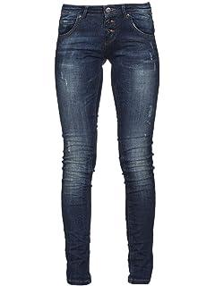 89d5262cb7ed79 MOD Damen Jeans Ellen - Slim Fit - Schwarz - Periwinkle Black ...