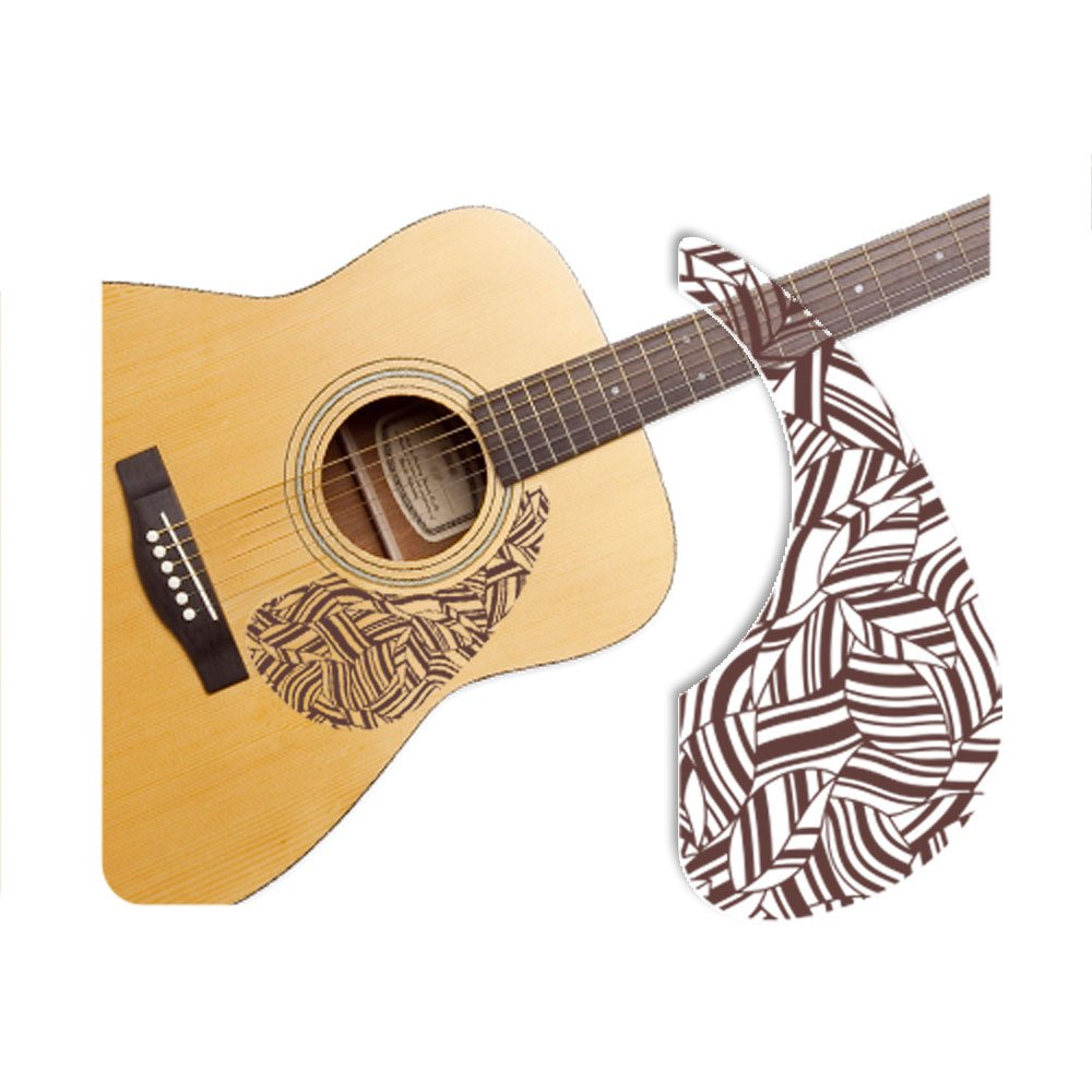 Healingshield Premium Acoustic Guitar Pickguard Basic Type Leap-B