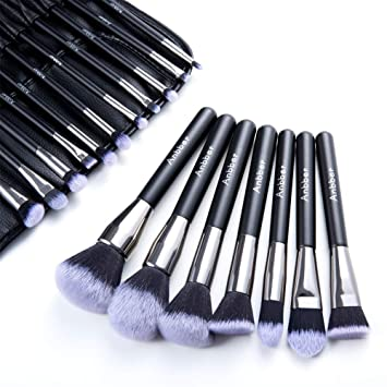 Make Up Pinsel Set Anbber 18 Stück Professionelles Schmink Pinselset