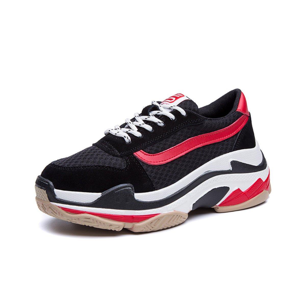 Yrps Zapatillas De Deporte Femeninas De La Primavera Zapatos Casuales Salvajes De La Muchacha Zapatillas De Deporte De La Moda 38 EU|D