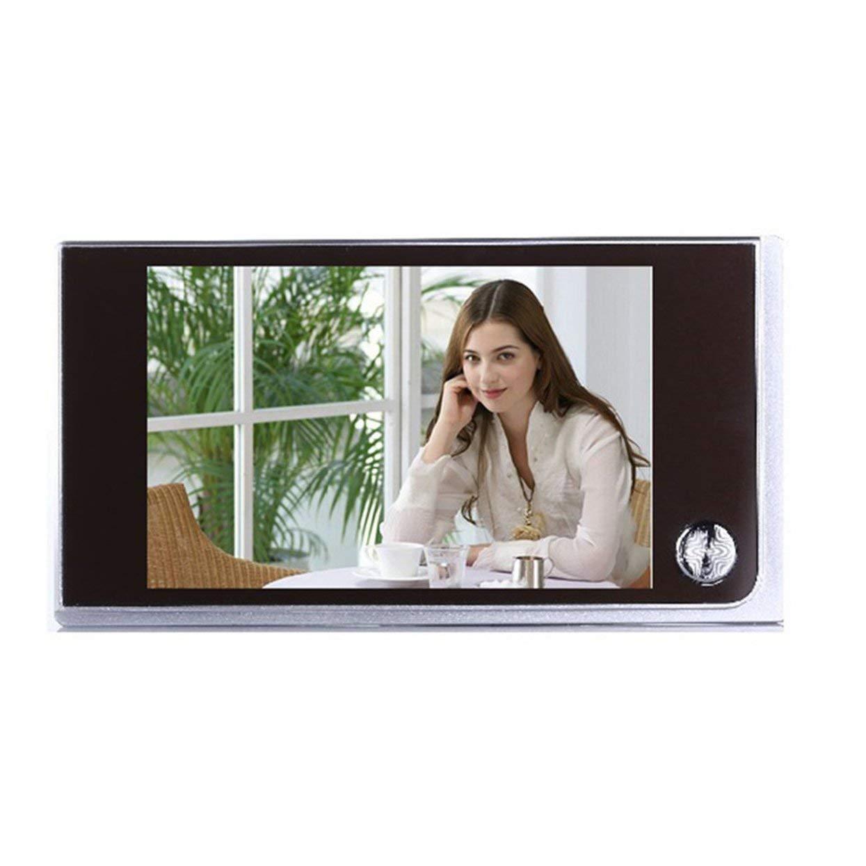 Tree-on-Life Multifunktionale Home Security 3,5-Zoll-LCD-Farb-Digital-TFT-Speicher T/ürspion Viewer T/ürklingel /Überwachungskamera