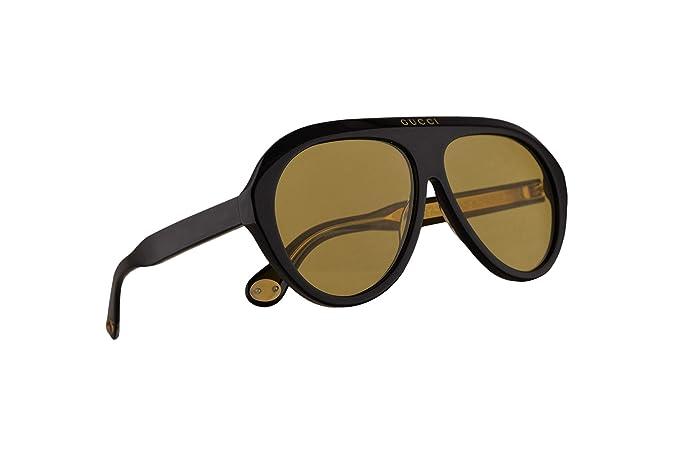 Gucci GG0479S - Gafas de sol con lente amarilla (61 mm, 002 ...