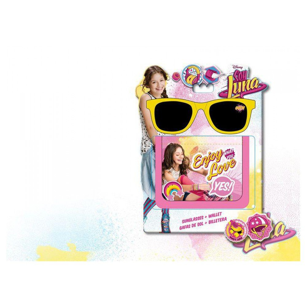 Amazon.com: Soy Luna Disney Gift Set Sunglasses Gafas de Sol ...