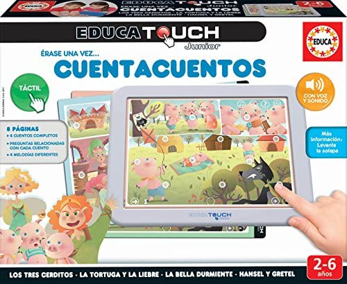 Educa - EducaTouch Junior: Érase una Vez… Cuentacuentos 2, con música y canciones, juego educativo para niños, a partir de 24 meses (17952): Amazon.es: Juguetes y juegos