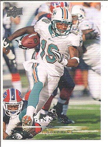Ted Ginn Jr. Miami Dolphins 2008 Upper Deck Football Card #101