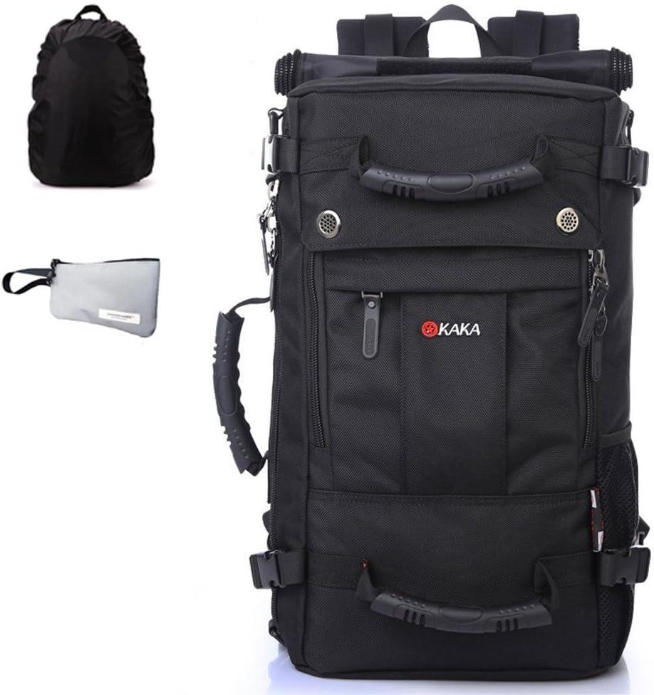 GossipBoy Mochila de viaje unisex, impermeable, ideal para actividades al aire libre como senderismo o escalada, multifunción: se puede usar como mochila, maleta o bolsa de viaje