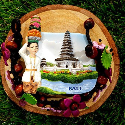 3D Refrigerator magnet Bali Island Indonesia Gift & Souvenir