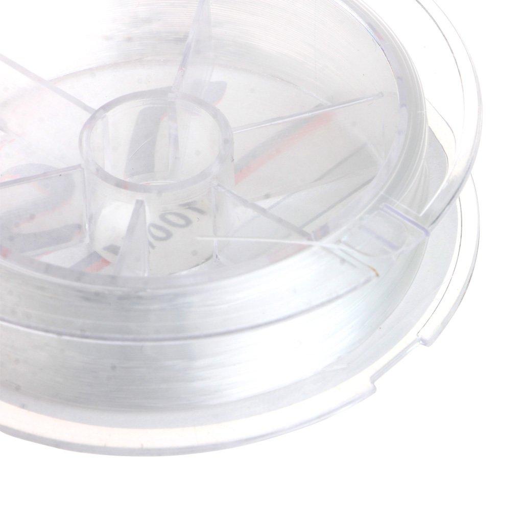 Super Strong 100m Transparent Oder Fluorocarbon Angelger/ät WDTong Nylon Angelschnur