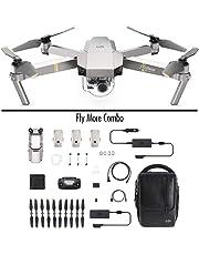 DJI Mavic Pro Platinum Fly More Combo (Versione EU) - Drone Quadricottero, Rumorosità 4 dB, Durata Batteria in Volo 30 Minuti, Radiocomando e Videocamera 4K, Portata 7 Km, Immagine 12 MP - Grigio