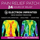 How it works Luminas uses a proprietary charging process that allows electrons* to be imprinted into a wearable patch that transfer directly to the body through a galvanic skin connection. Each patch is energetically charged with targeted electrons* ...