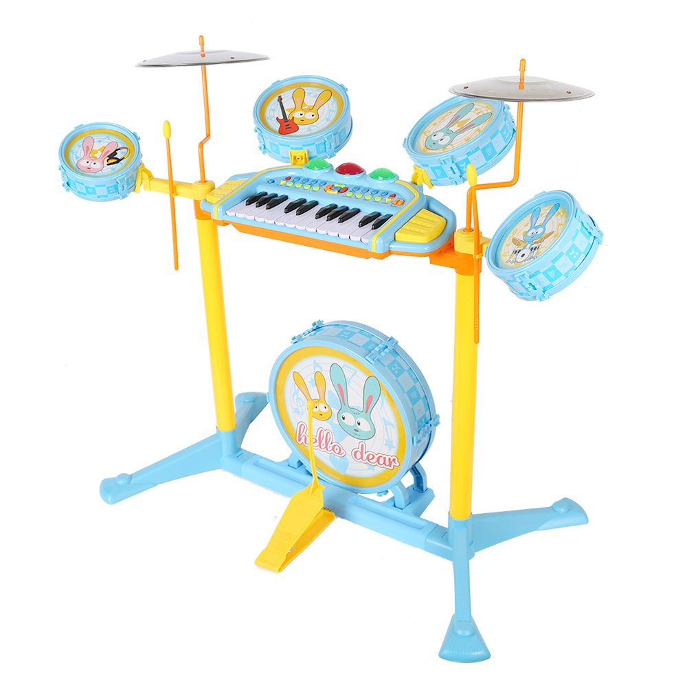 COLORTREE Educational Development Music Toy Electric Beats Jazz Drum and Piano by COLORTREE (Image #2)