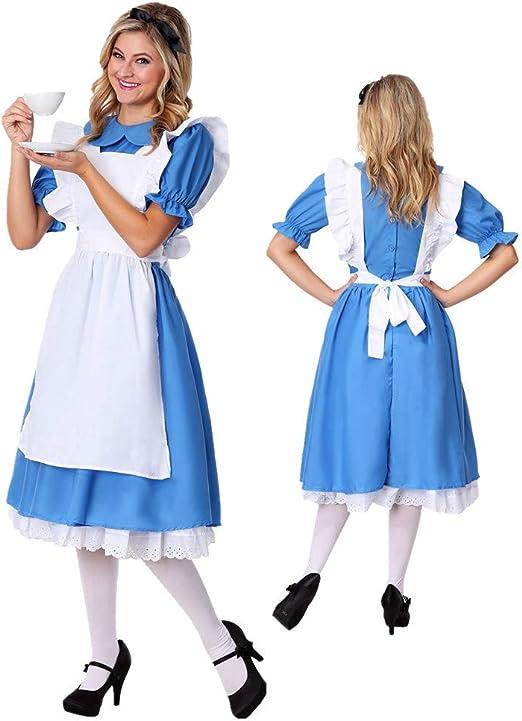 Traje de Halloween, Traje de mucama de Estilo Pastoral, Disfraz de ...