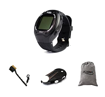 POSMA GT1PA GT1Plus - Juego de Relojes de Golf GPS con 1 Herramienta de golfistas 5