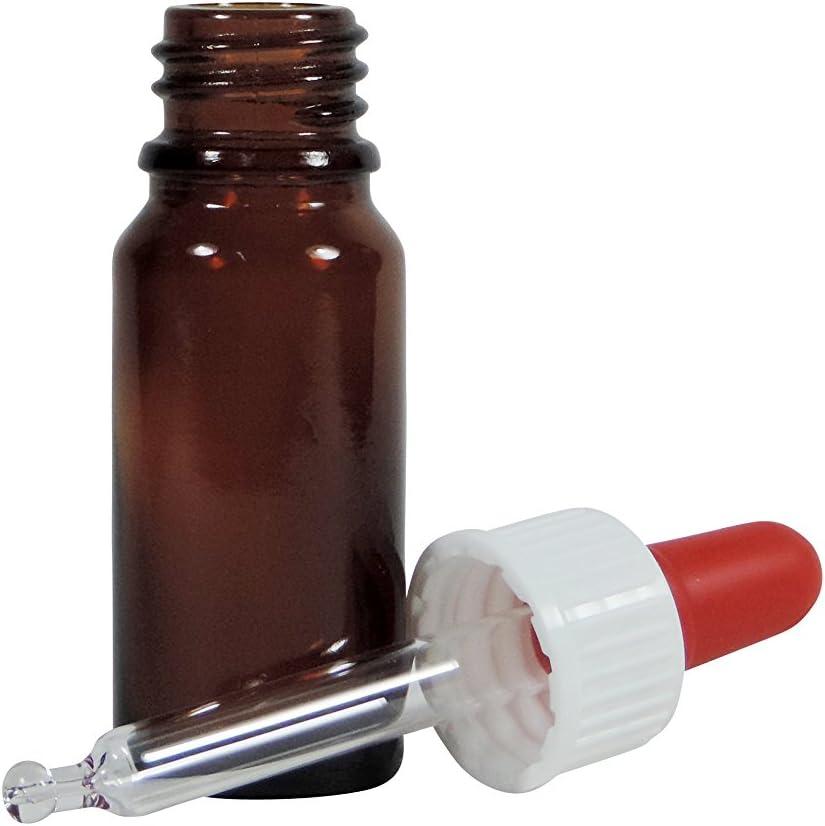 Viva-Haushaltswaren, botellas farmacéuticas de vidrio de 10 ml ...