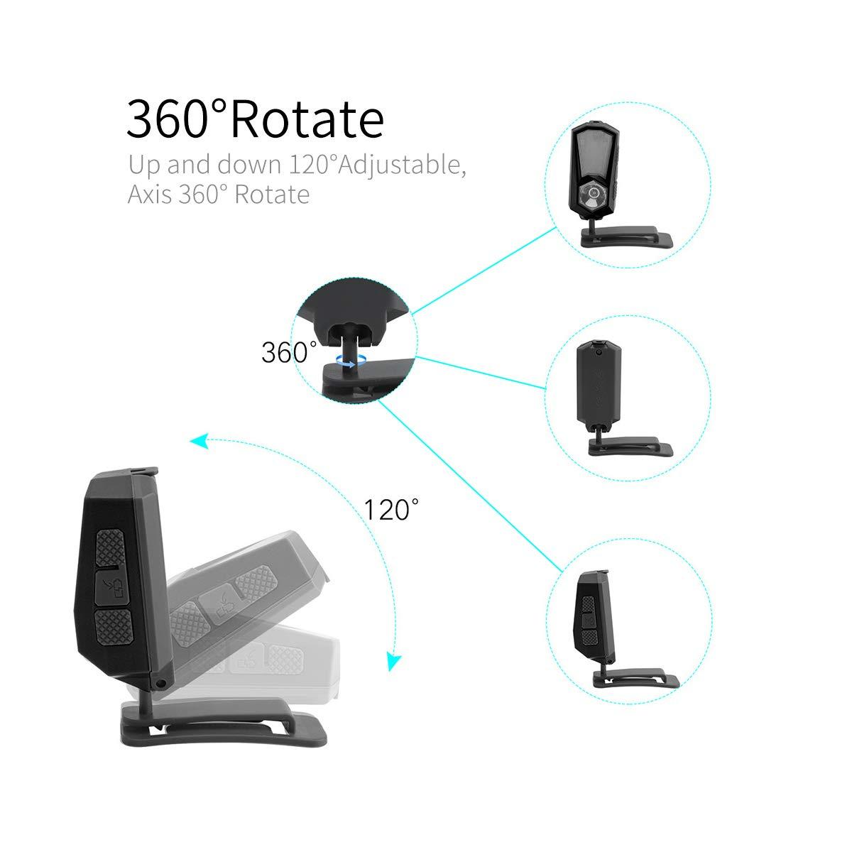 sunvito Lampade da Testa USB Ricaricabile, IPX4 Headlamp with 7 modalità di Illuminazione (LED XPE), per Corsa, Pesca, Campeggio, Lettura, Trekking, Ciclismo, SOS